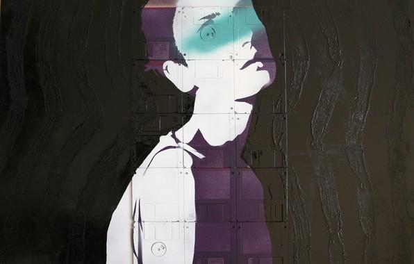 Картинка Nick Gentry, Сюрреализм, британский стиль, CACHE