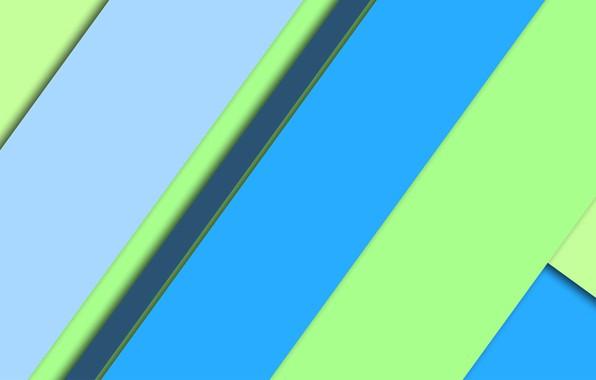 Картинка линии, wallpaper, геометрия, салатовый, design, blue, color, небесный, material, темно-бирюзовый, морской волны