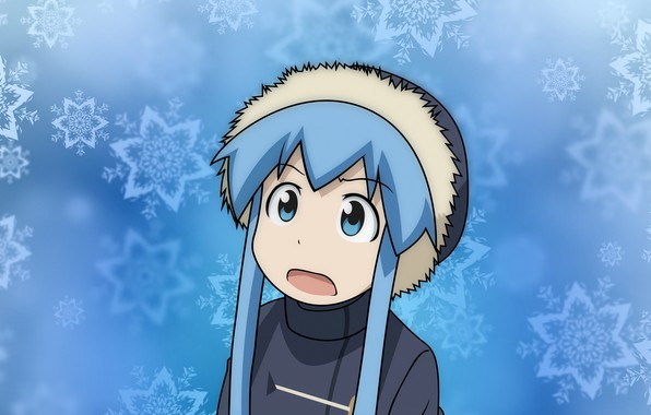 Картинка зима, Shinryaku! Ika Musume, Ika Musume