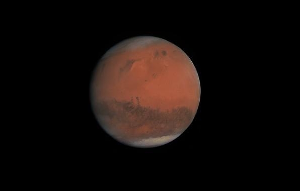 Картинка космос, марс, красная планета