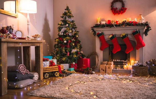 Картинка елка, Новый Год, Рождество, merry christmas, decoration, xmas, holiday celebration