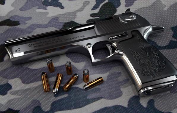 Картинка gun, pistol, military, weapon, Desert Eagle
