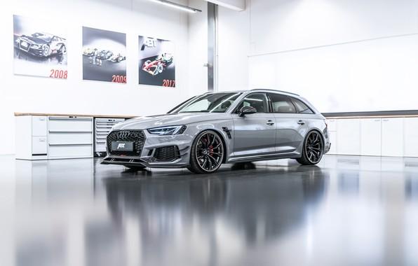 Фото обои Audi, ауди, черный, Black, ABT