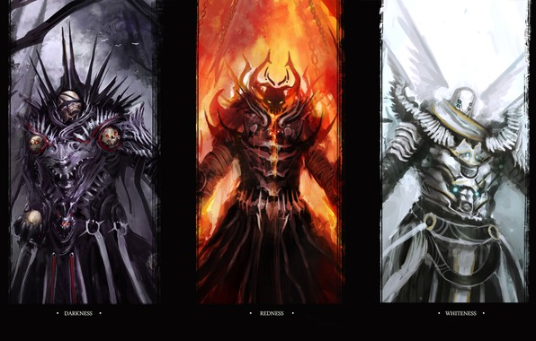 Картинка monsters, funny, digital art, artwork, darkness, humor, creatures, theDURRRRIAN, tobuscus, wallpaper of emissaries