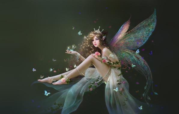ФЕЯ Ruoxin-zhang-art-feika-fentezi-devushka-fairy