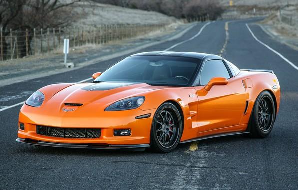 Картинка Z06, Corvette, Chevrolet, Wheels, Forgeline, GZ3