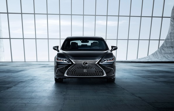 Картинка Lexus, седан, вид спереди, 2018, ES 250