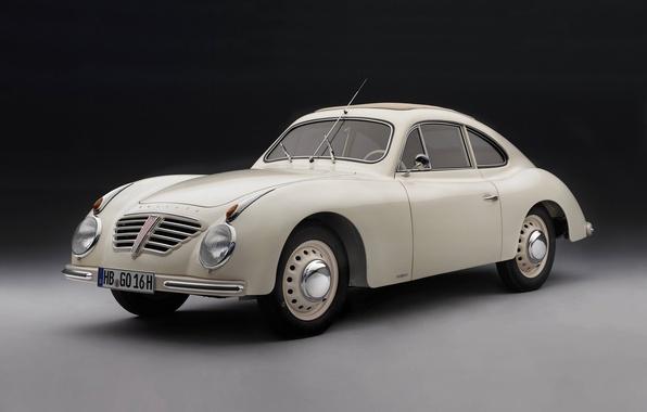 Фото обои белое, Borgward, Бремен, Rometsch, купе, Goliath GP700 Sport, Боргвард, 1952, Германия, черное, Голиаф, спорт, 1951, ...