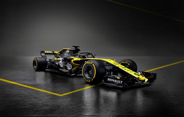 Картинка Renault, формула 1, болид, Formula 1, рено, 2018, R.S.18