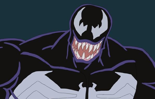 Картинка Marvel, venom, 1997, веном, симбиот, чёрная смерть