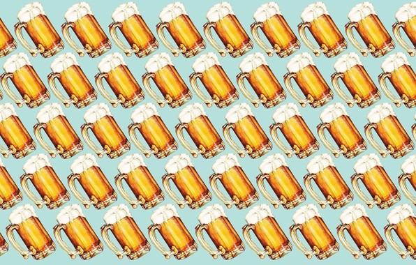 Картинка пена, минимализм, алкоголь, кружка, Пиво, напиток, minimalism, foam, mug, alcohol, Beer, beverage