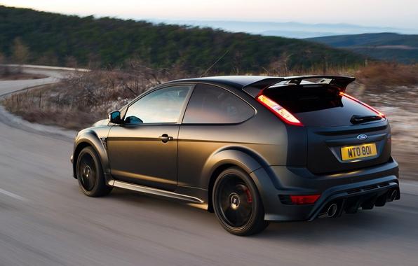 Фото обои дорога, Ford, Focus, RS500
