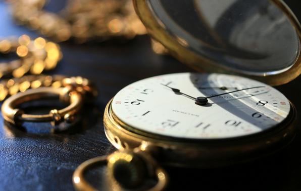 Фото обои цепочка, карманные, циферблат, часы