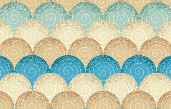 Картинка голубой, узор, текстура, бежевый