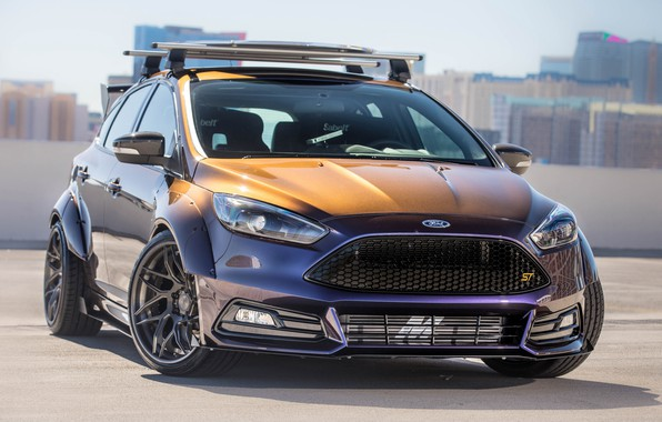 Картинка Ford, tuning, Focus ST, Blood Type Racing