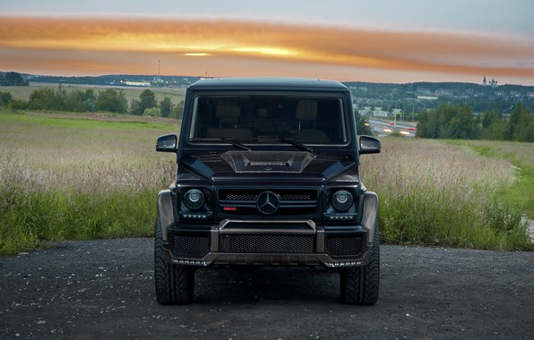 Картинка Mercedes, Brabus, Front, AMG, G63, W463, G800