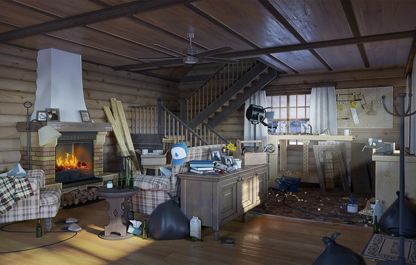 Картинка бардак, помещение, Big Dipper