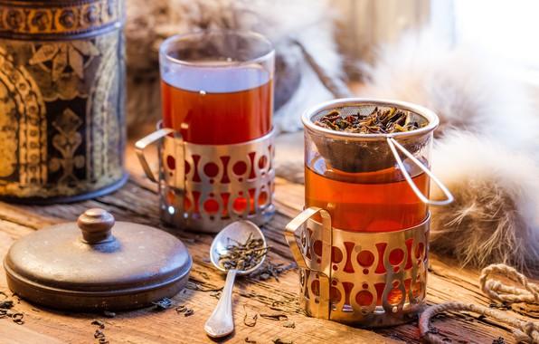Картинка чай, горячий, напиток