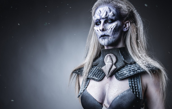 Картинка Game of Thrones, make up, female white walker