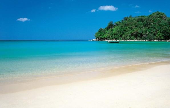 Обои океан пляж