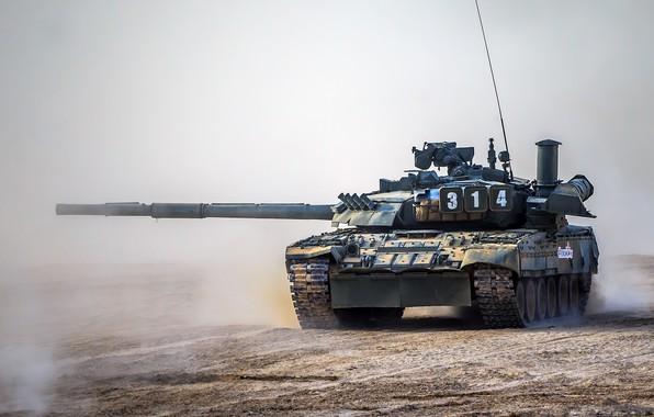 Фото обои Т-80УЕ-1, мощь, танк