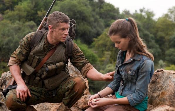 Обои cinema, girl, gun, soldier, weapon, man, movie, assassin, film, Sniper, vegetation, Sgt Brandon Beckett, Chad …