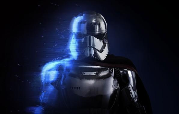 Картинка Star Wars, Звездные войны, Electronic Arts, DICE, EA DICE, Captain Phasma, Star Wars: Battlefront II, …