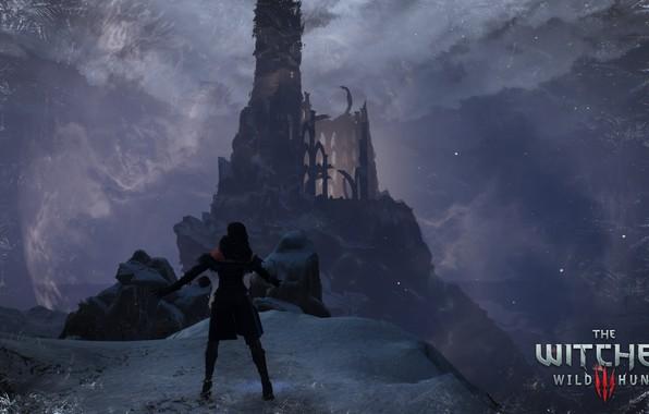 Картинка ведьмак, ведьмак 3 дикая охота, йенифер