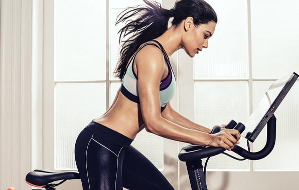 Картинка female, fitness, spin class
