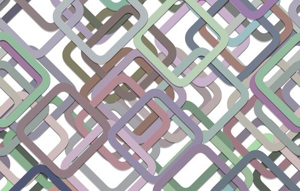 Фото обои абстракция, геометрия, squares, multicolor, background