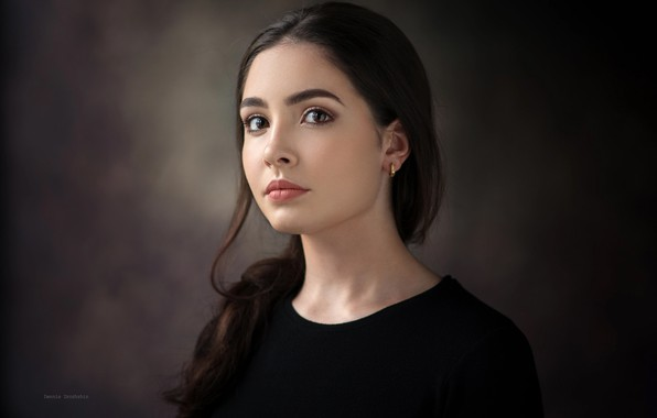 Картинка взгляд, девушка, портрет, Dennis Drozhzhin, Nelika