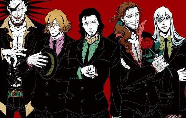 мужчины картинки аниме