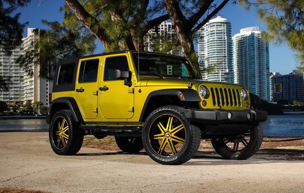 Картинка color, Wrangler, Jeep, kit, suspension, lift, wheels., Status