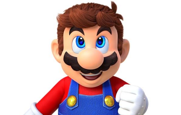 Картинка усы, волосы, рука, нос, Марио, комбинезон, перчатка, Mario, Super Mario Odyssey