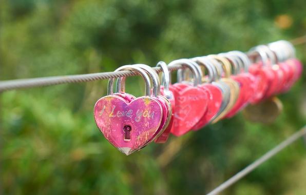 Картинка love, heart, romantic, lock