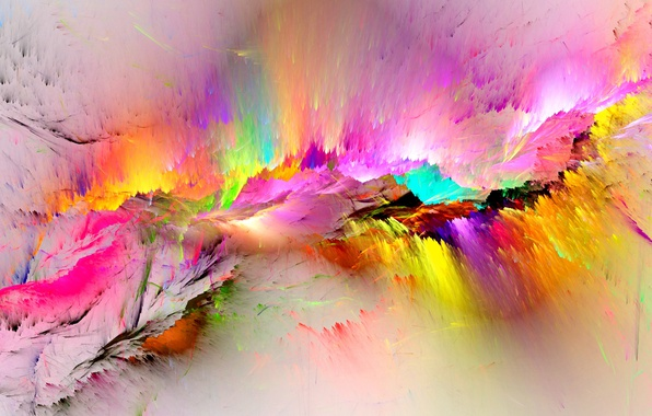 Картинка фон, краски, colors, colorful, abstract, rainbow, background, splash, painting, bright