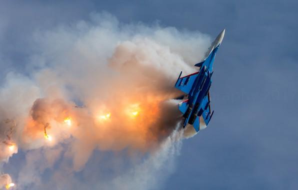 Картинка оружие, самолёт, Su30SM