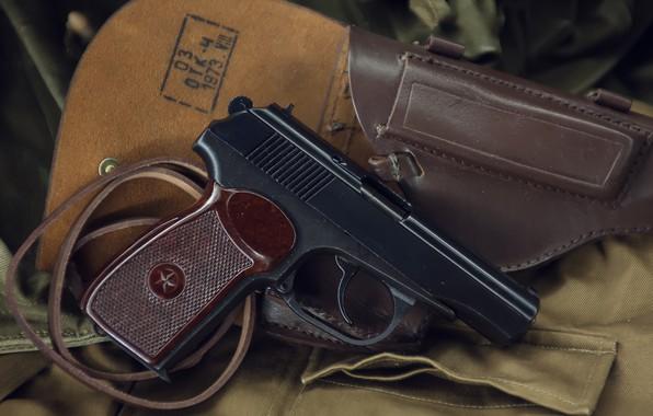 Картинка пистолет, оружие, gun, pistol, weapon, Макаров, ПМ, Makarov, PM