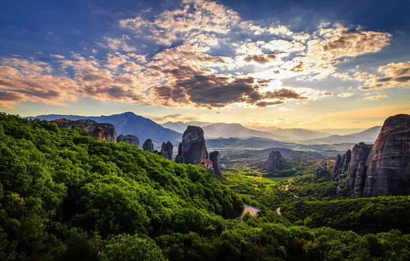 Картинка Греция, Greece, Meteora