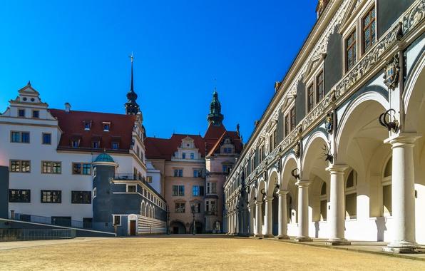 Картинка Германия, Дрезден, Dresden, Stallhof