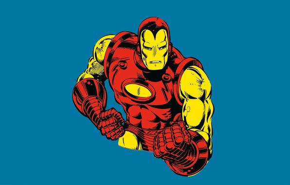 Картинка Iron Man, комикс, марвел, Marvel Comics, Железный Человек