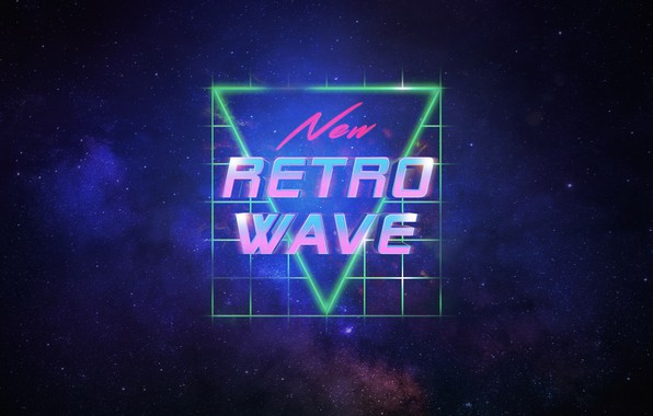 Картинка Звезды, Космос, Фон, Synthpop, Synth, Retrowave, Синти-поп, Synthwave, Synth pop, New Retro Wave