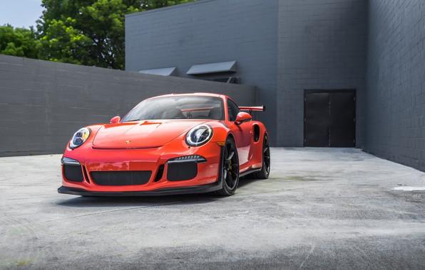 Картинка 911, Porsche, GT3, Carrera, VAG, Ginger