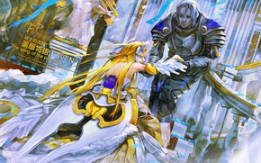Картинка девушка, рыцарь, принцесса, Pixiv Fantasia Sword Regalia