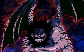 Картинка demon, game, devil, anime, wings, red eyes, manga, oriental, asiatic, strong, oni, Nanatsu no Taizai, …