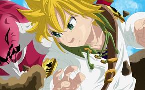 Картинка game, anime, manga, oriental, asiatic, Nanatsu no Taizai, japonese, Seven Deadly Sins