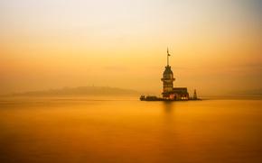 Картинка пролив, маяк, Стамбул, Турция, Босфор