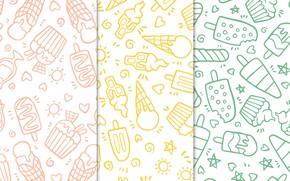 Картинка фон, текстура, мороженое, десерт