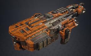Картинка корабль, техника, Fractured Space, Last Stand, AI Beam Frigate