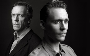Картинка Хью Лори, Hugh Laurie, Tom Hiddleston, Том Хиддлстон, мини-сериал, Ночной администратор, The Night Manager